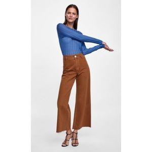 Zara wise leg jeans